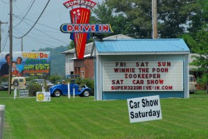 Nice weather, classic cars, ham radio -- what more could you ask for?