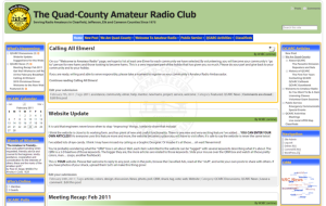 The brand-new Quad-County Website launched in February