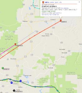High Altitude Balloons Pass Nearby